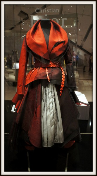 John Galliano for Christian Dior Haute Couture Dress at the ROM BIG Exhibition on Exshoesme.com. Photo by Jyotika Malhotra.