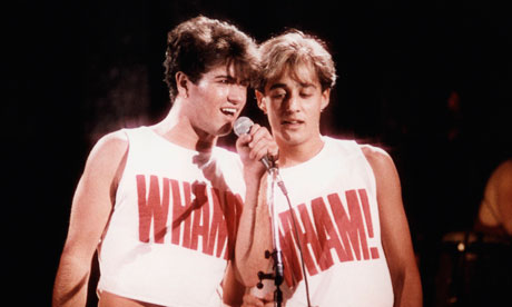 Double Wham George Michael and Andrew Ridgeley on Exshoesme.com