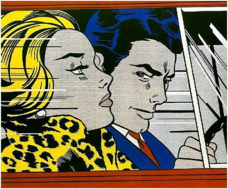 8 In the Car by Roy Lichtenstein on Exshoesme.com
