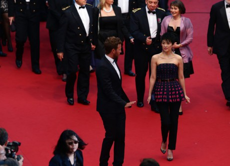 Zhang Ziyi at the Cannes 2013 Opening Ceremony on Exshoesme.com. Photo Vittorio Zunino Celotto