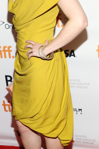 6. Emilia Clarke in Westwood at the Dom Hemingway premiere at the 2013 Toronto International Film Festival #TIFF13 on Exshoesme.com. Jonathan Leibson photo