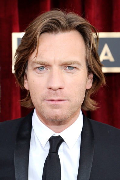 Ewan McGregor at the 2014 SAG Awards on Exshoesme.com. Kevork Djansezian Getty photo