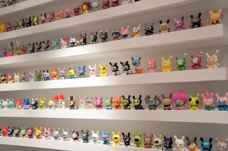 15. Full DUNNY collection from This Is Not A Toy Exhibition Photo by Jyotika Malhotra from Exshoesme.com