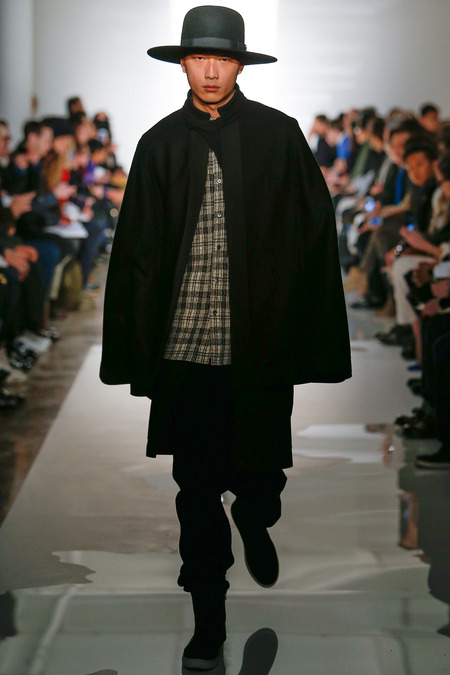 Public School FW14 men's short cape on Exshoesme.com