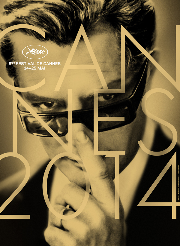 Marcello Mastorianni on the Cannes 2014 Official Poster on Exshoesme.com