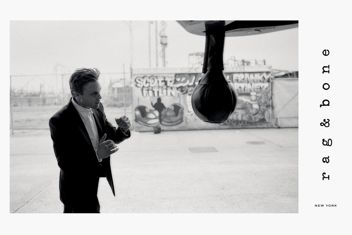 Michael Pitt for Rag and Bone FW14 Campaign on Exshoesme.com