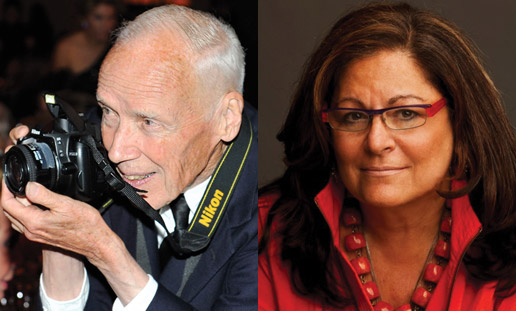 Bill Cunningham Fern Mallis Talk September 2014 on Exshoesme