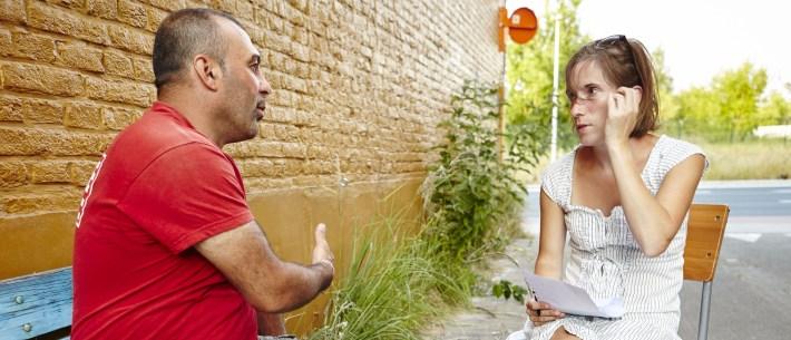 Onze reporter in gesprek met Adonis Wardeh, Syrische archeoloog in Vlaamse velden