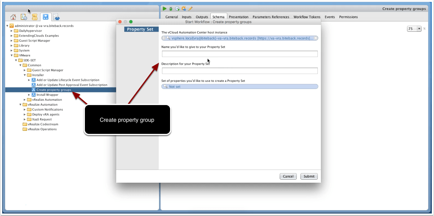vRealize Automation 7 – Event Broker subscription installation