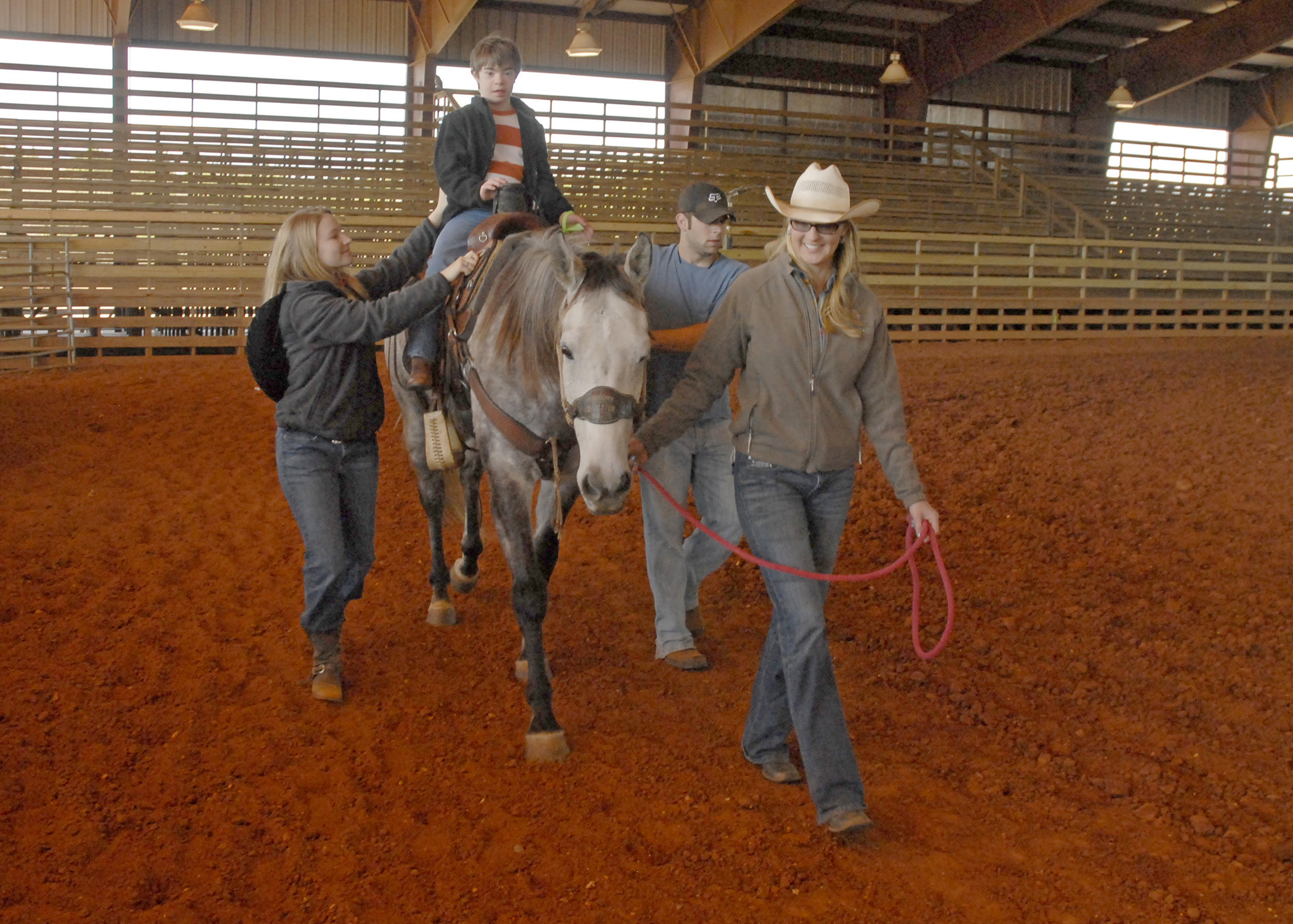 4 H Club Hosts Rodeo For True Sweethearts