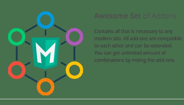 Mega Main Addons Extensions