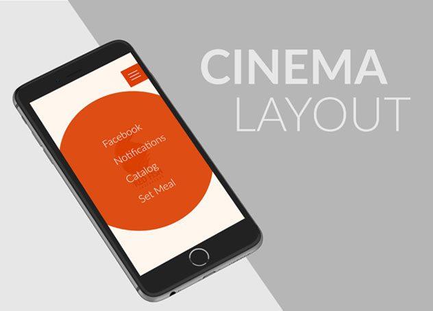 Layout del cinema