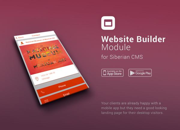 Costruttore di siti Web