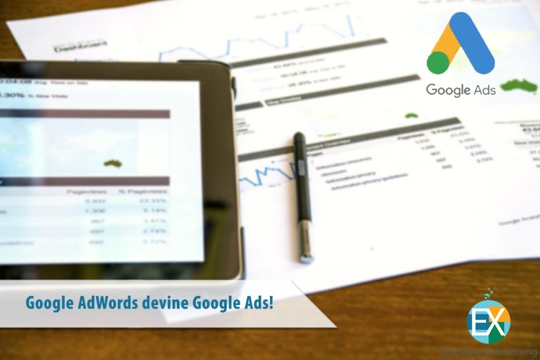 Google AdWords devine Google Ads!