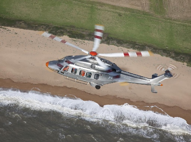 The AW189 are medium-lift helicopters Photo: AgustaWestland