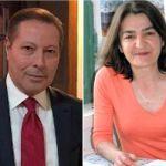 Ismail Dukel, un reprezentant al postului Tele1 TV la Ankara, şi Muyesser Yildiz,