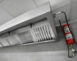 Sistemas extinción de incendios para campanas de cocina