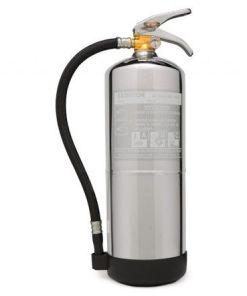 Extintores cromados