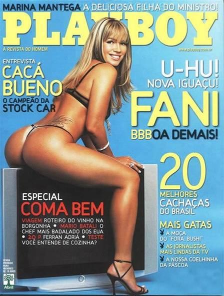 """Fani foi capa da """"Playboy"""" em abril de 2007"""