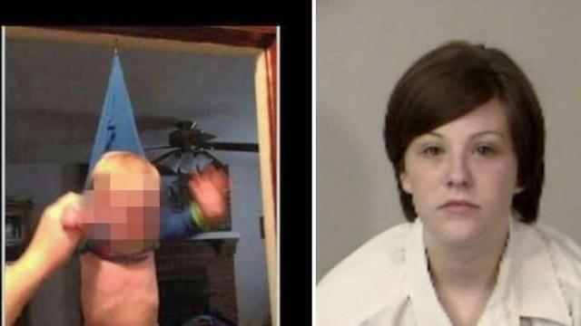 Bebê foi pendurado em gancho pela própria mãe, Alexis Breeden