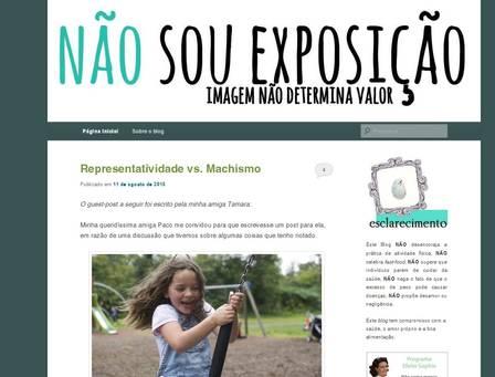 Segundo Paola, blog já teve mais de um milhão de acessos