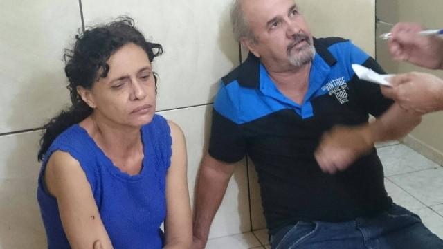 Augusto Alves e Virna Mura foram presos acusados de homicídio.