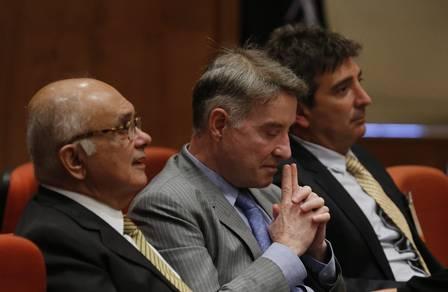 Julgamento de ação penal contra Eike Batista na Justiçaa Federal, em 2014