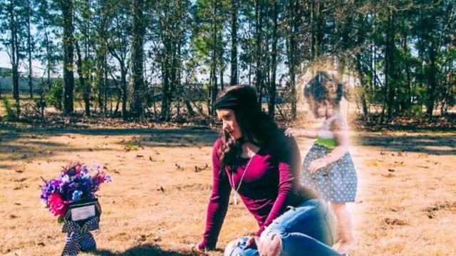 A mãe acusada de matar a filha no túmulo dela