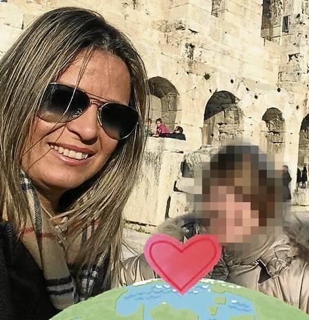 No facebook da mulher do embaixador Françoise Amiridis, embaixador da Grécia no Brasil, Kyriakos Amiridis
