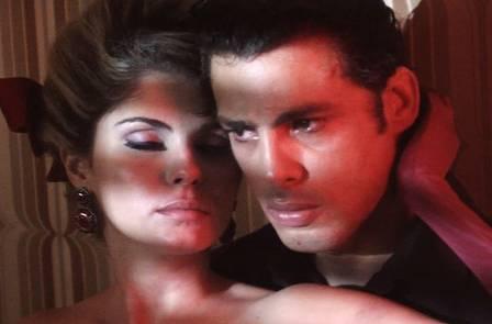 Bárbara faz par com Cauã Reymond na minissérie
