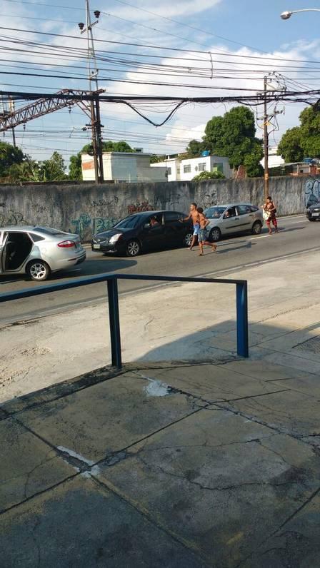Jovens fazem arrastão no Engenho Novo, Zona Norte do Rio