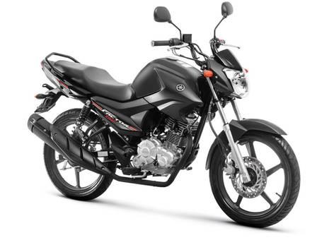Motos Yamaha com até 450 cilindradas estão na quarta posição