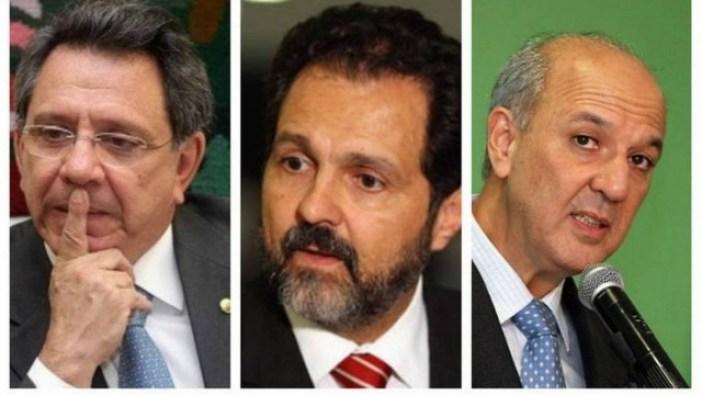 O assessor especial do presidente Michel Temer e os ex-governadores Agnelo Queiroz e José Roberto Arruda