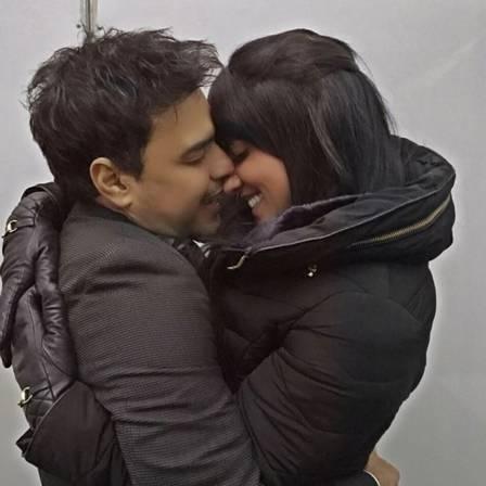 Zezé Di Camargo com Graciele Lacerda