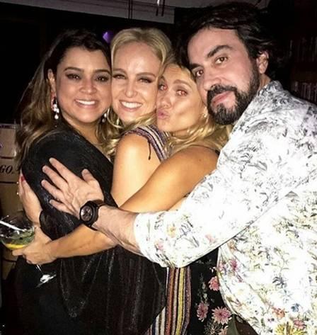 Preta Gil, Angélica, Carolina Dieckmann e Padre Fábio de Melo