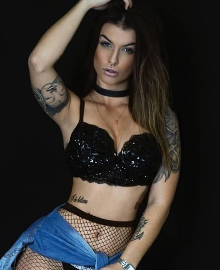 A DJ gaúcha Bárbara Labres