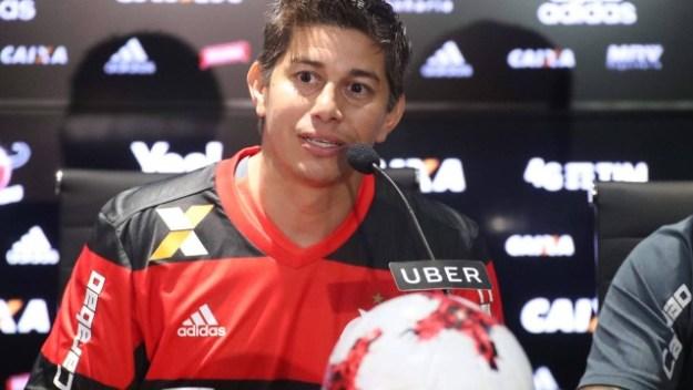 Conca defendeu o Flamengo por empréstimo em 2017