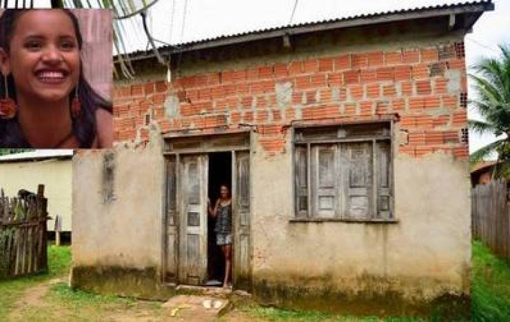 A antiga casa de Gleici ficou para uma tia