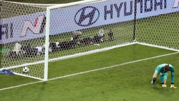 De Gea falhou no segundo gol de Cristiano Ronaldo