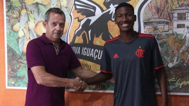 Weverton foi o artilheiro do Nova Iguaçu no Carioca Sub-17