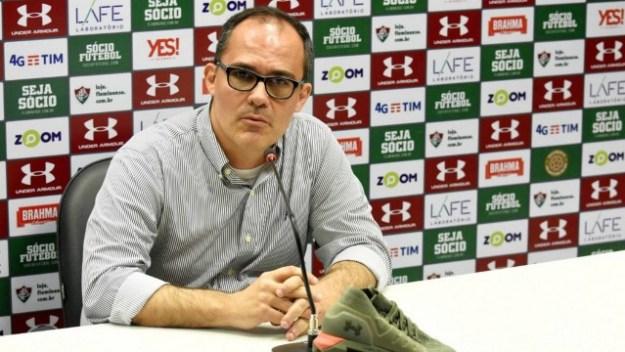 Pedro Abad, presidente do Fluminense