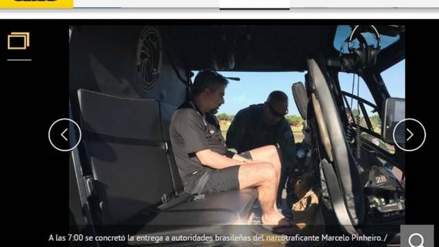 Marcelo Piloto é entregue a forças de segurança brasileiras