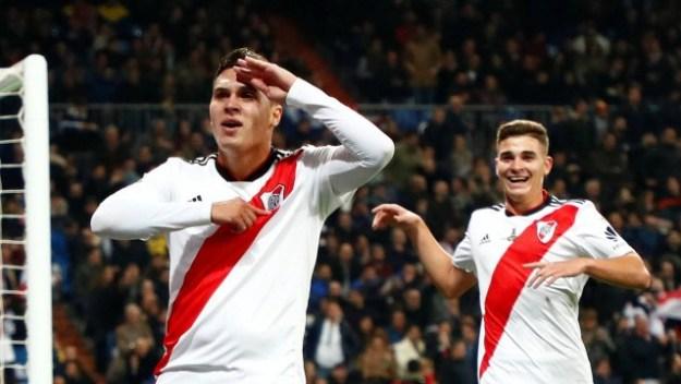 Quintero marcou o segundo gol do River