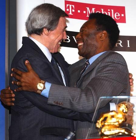 Gordan Banks e Pelé