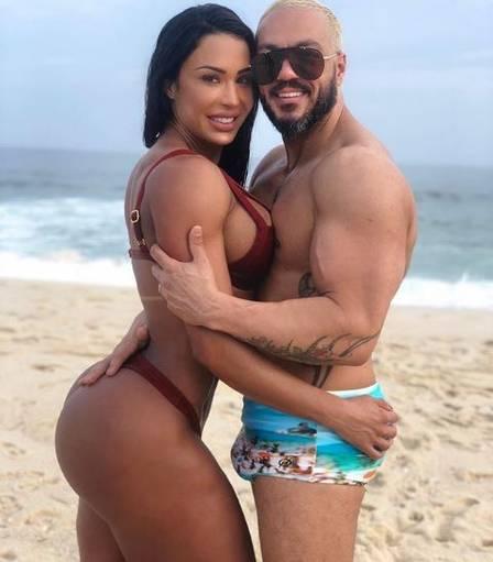 Gracyanne Barbosa e Belo estão juntos há mais de 10 anos