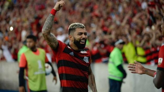 O atacante Gabigol virou o novo xodó da torcida do Flamengo