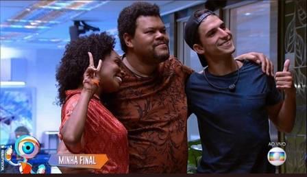 Thelma, Babu e Felipe Prior são três dos cinco participantes com maior crescimento relativo