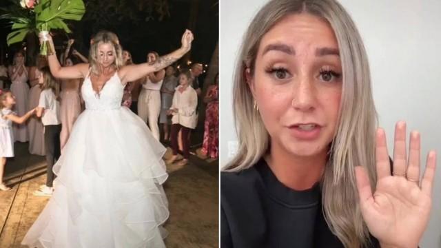 Jillian no casamento no México e no vídeo que bombou
