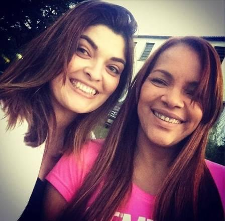 Luana Rangel Pimenta e Flordelis antes de se desentenderem