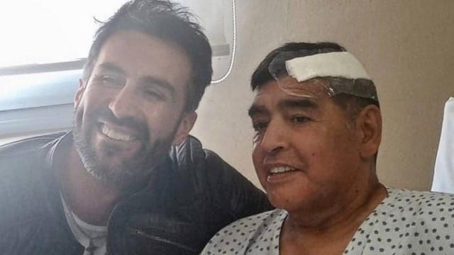 Leopoldo Luque e Maradona